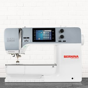 Bernina B570 QE US Sewing and Vacuum - Call us for best price for BERNINA Sewing Machines!